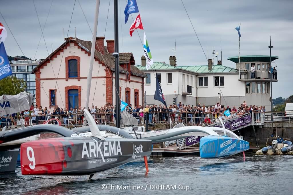 18_113343   © Thierry Martinez.  CHERBOURG - FRANCE . 27 Juillet 2018. DRHEAM CUP, Destination Cotentin 2018.