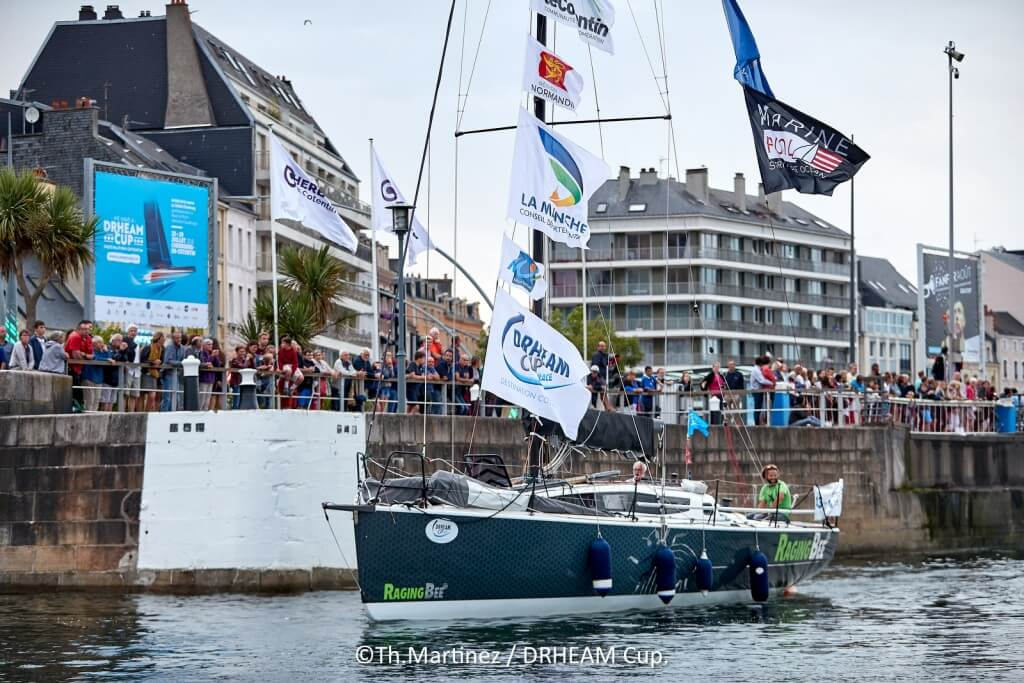 18_113501   © Thierry Martinez.  CHERBOURG - FRANCE . 27 Juillet 2018. DRHEAM CUP, Destination Cotentin 2018.