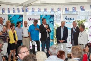 18_114725   © Thierry Martinez.  CHERBOURG - FRANCE . 28 Juillet 2018. DRHEAM CUP, Destination Cotentin 2018.  Remise des prix.